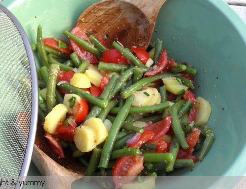 Potato Green Bean and Cherry Tomato Salad