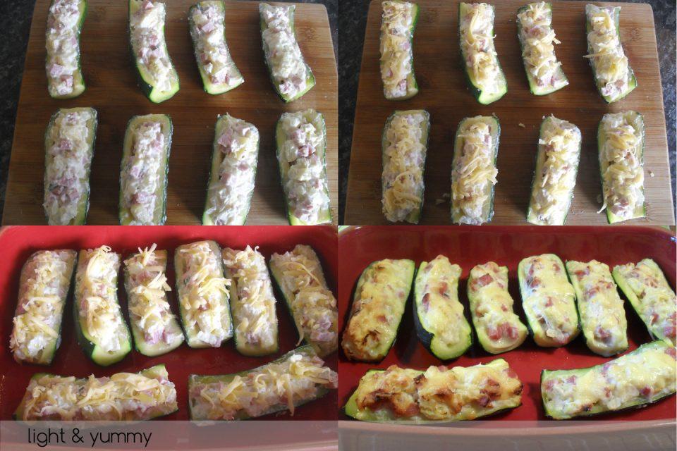 Stuffed courgettes, light recipe, Light & Yummy