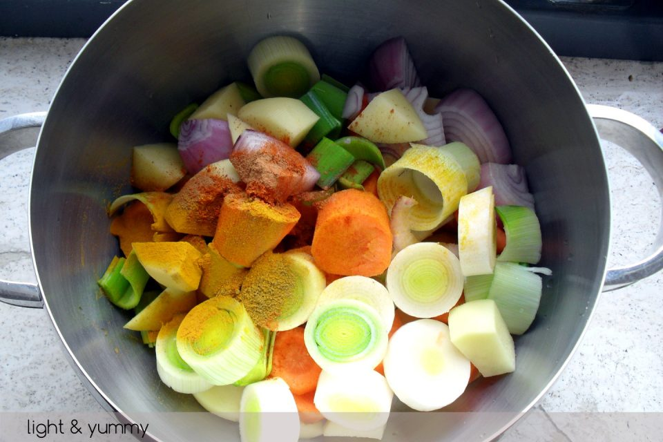 Vegetable detox soup, Light & Yummy