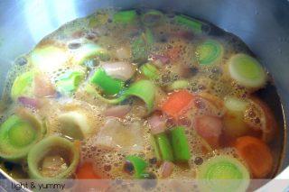 Vegetable detox soup, Light & Yummy